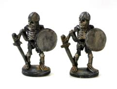 Skeleton w/Sword & Shield 2-Pack #1