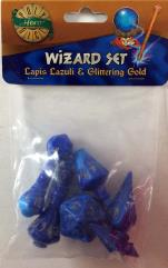 Wizard Set - Lapis Lazuli & Glittering Gold (7)