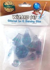 Wizard Set - Ethereal Ice & Burning Blue (7)