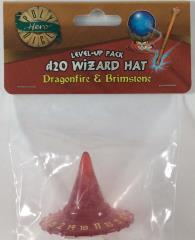 1d20 Wizard Hat - Dragonfire & Brimstone