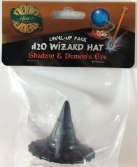 1d20 Wizard Hat - Shadow & Demon's Eye