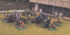 Nain's Dwarf Organ Guns (28mm)