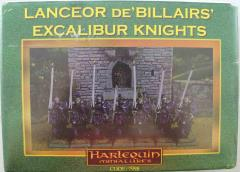 Lanceor de'Billairs' Excalibur Knights