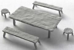Table & Seats - Set #1