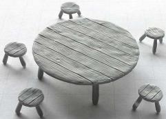 Table & Seats - Set #3