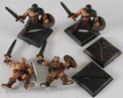 Dark Barbarian Swordsmen Collection #1