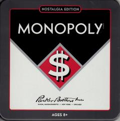 Monopoly (Nostalgia Games Series, 2012 Edition)