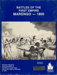 Battles of the First Empire - Marengo - 1800