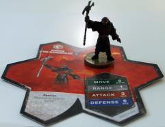 Wave #12 - Warriors of Eberron - Kurrok the Elementalist