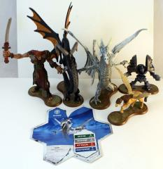 Raknar's Vision - Heroes of Lindesfarme, Complete Set