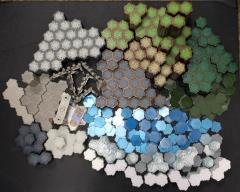 Heroscape Mega Terrain Collection - 1,216 Hexes on 397 Tiles!