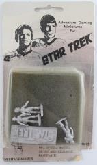 Mr. Spock, Dr. McCoy, Uhuru, Nameplate