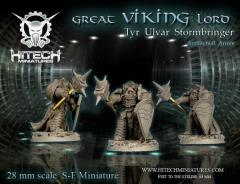 Great Viking Lord - Tyr Ulvar Stormbringer