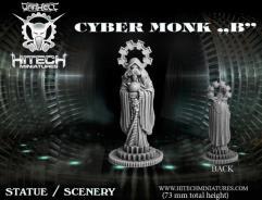 Cyber Monk Statue B