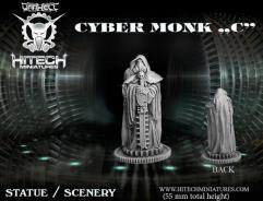 Cyber Monk Statue C