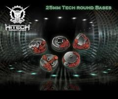25mm Round Bases - Tech (5)