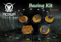 40mm Round Bases - Ancient Basing Kit (5)