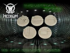 40mm Round Bases - Industrial (5)