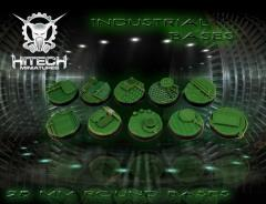 25mm Round Bases - Industrial (10)