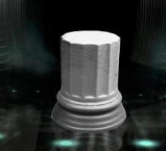 """35mm Plinth Column """"Flat"""""""