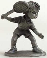 Child w/Tennis Racket