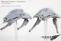 Reaver Heavy Gunships