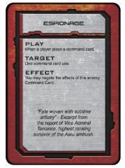 Shaltari Command Cards