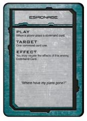 UCM Command Cards