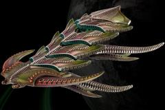 Daemon/Dragon Battleship - The Scourge