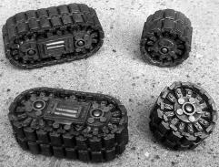 Tank Tracks & Tracked Wheels