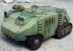 Bison APC (Halftrack)