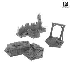 Shadowpike Sepulchral Terrain Set