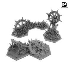 Shadowpike Reavers Terrain Set