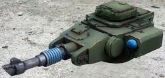 Heavy Laser Cannon Tank Turret