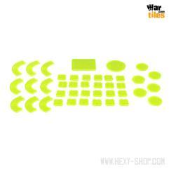 War in the Shadows - Armageddon Token Set, Green