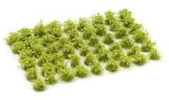 6mm Tuft - Light Green Flowers