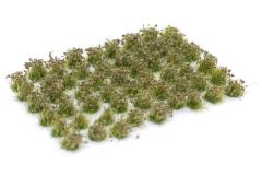 6mm Tuft - Olive Green Flowers