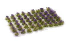 6mm Tuft - Purple Flowers