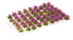 6mm Tuft - Violet Flowers