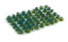 6mm Tuft - Dark Blue Flowers