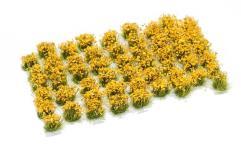 6mm Tuft - Ochre Flowers