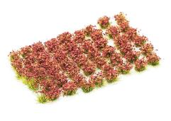 6mm Tuft - Crimson Red Flowers