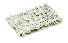 6mm Tuft - Pale White Flowers