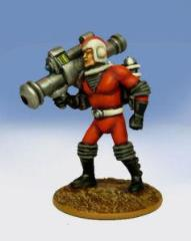 Galacteer Trooper - Advancing w/Bazooka
