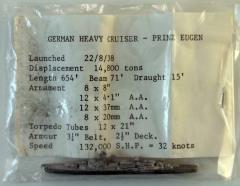 German Heavy Cruiser - Prinz Eugen