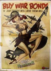 Heroes of Normandie Pin-Up Promo Poster