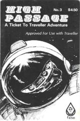 "High Passage #3 ""The Edge Adventure, Long Range Thruster System"""