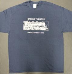 Horror on the Orient Express Kickstarter T-Shirt (XL)