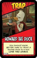 Munchkin Marvel - Trap, Howard the Duck