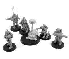 Cadian Command HQ Squad